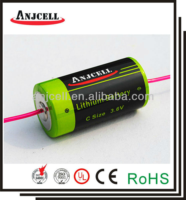 3.6v 6500mah primary battery er26500m-AX 3,6V