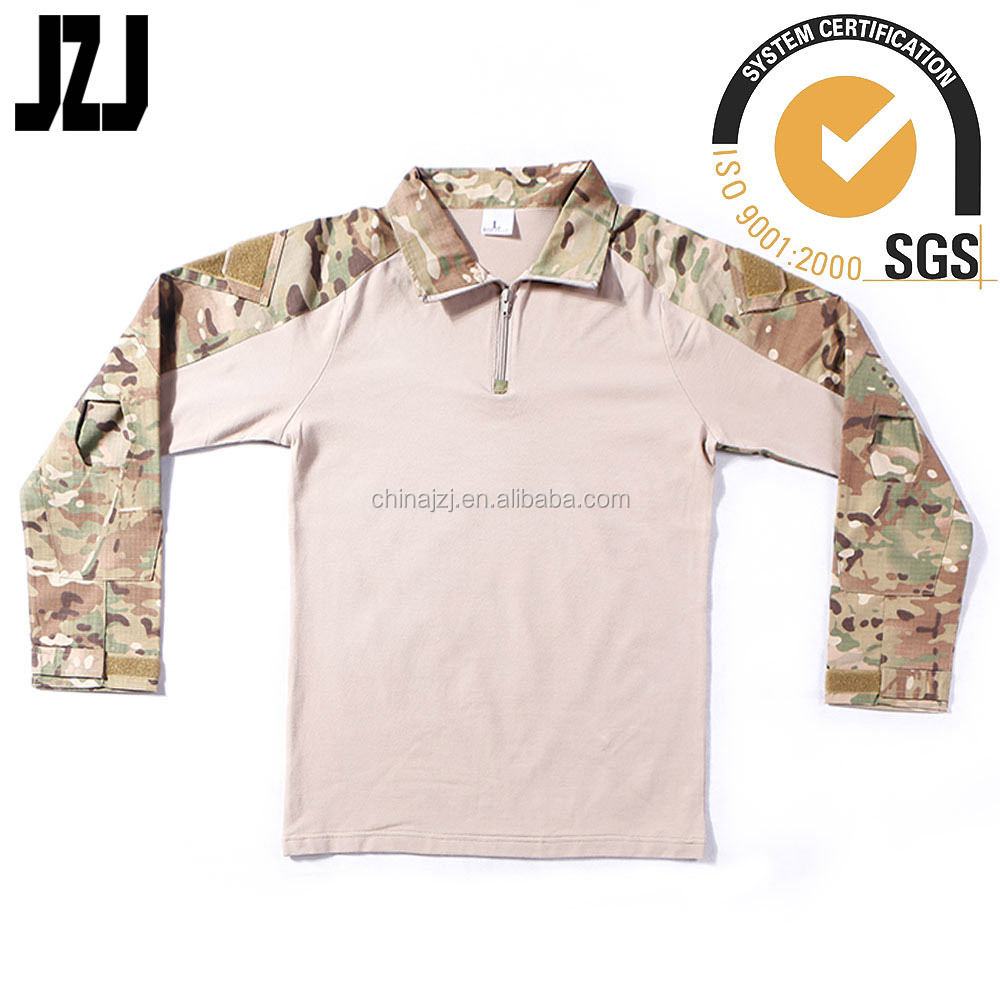 military camouflage tactical combat workout clothes