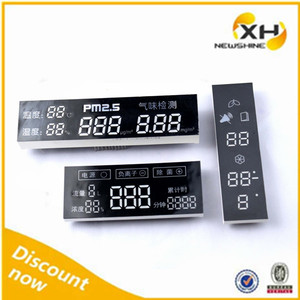 NEWSHINE FND Digital Text Display, Display Case LED Lights, Electronic Scoring System