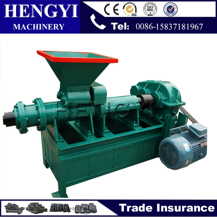 charcoal stick extruder/Hollow shape coal rod machine