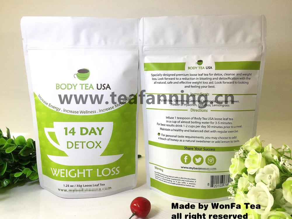 Organic Fit Detox tea, Customized all kinds of USFDA Herbal Teas