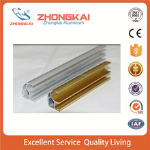 Top sale Aluminum profile track and wheel for wardrobe sliding door