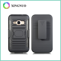 Low Price China Mobile Phone Abrasion Resistance Kickstand Case for Samsung J120. J1 2016