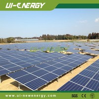 China PV solar panel fixed mounting structure