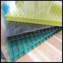 cheap corrugated cellular Polycarbonate plastic roofing sheets for sunshade