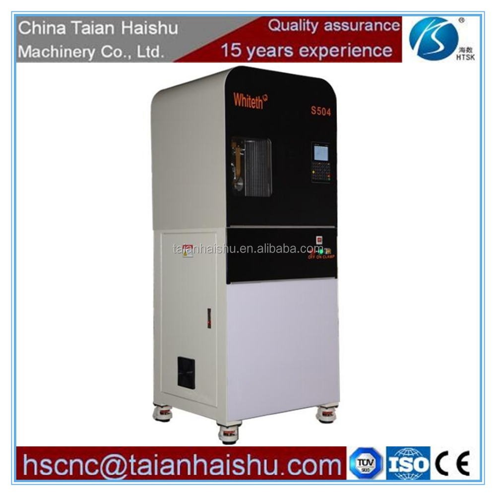 Metal Material and Dental Implant Material Type cnc milling machine 5 axis with CAD/CAM S504