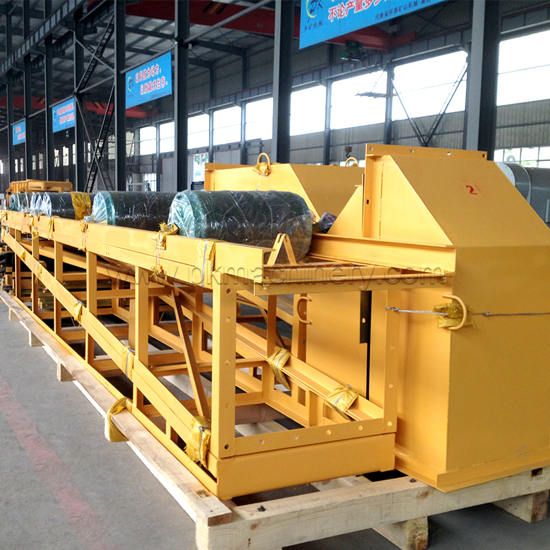 Supply stainless steel belt conveyor system