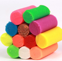 2019 Hot Fashion 10g/bag Soft Modeling Clay Candy Wrapper Magic Clay For Kids DIY Educational Toys