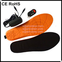3.7V Li-on Battery Powered Wireless Remote Control Motorbiking Heated Insoles