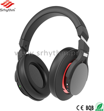 Shenzhen Factory Custom Logo Wireless Bluetooth Active noise cancelling Headphone