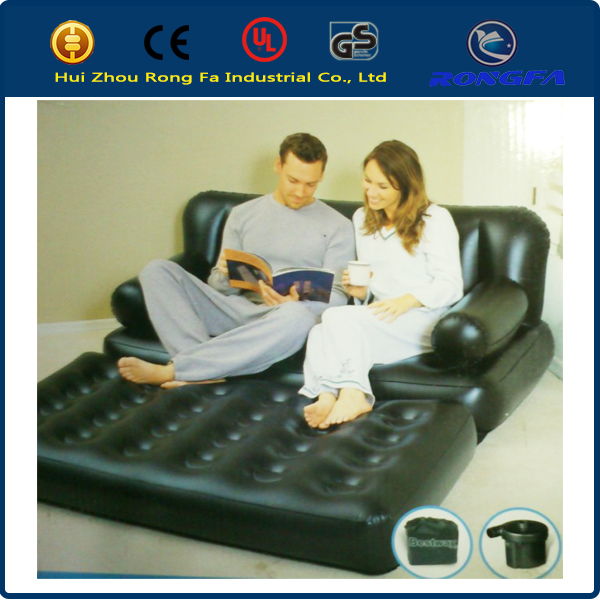 new fashion multi-function inflatable sofa bed living room furniture, inflatable sofa big size