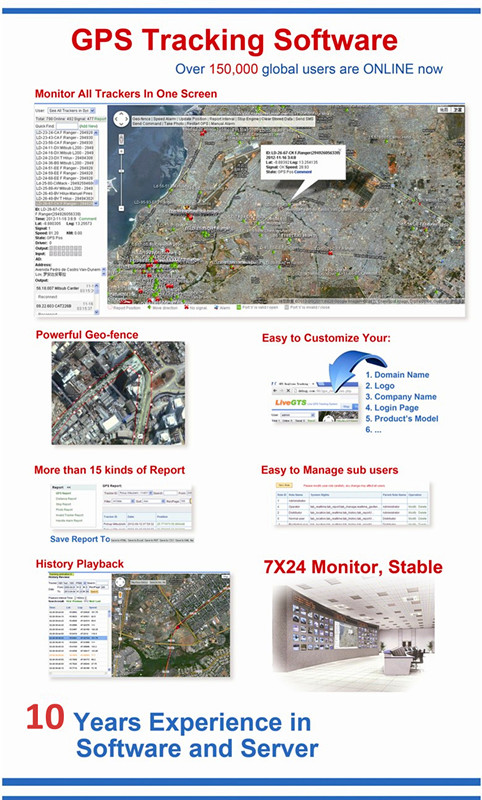 With Google Maps Real Time Online Web GPS Server Taxi Management Software