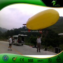 Made In Guangzhou Inflatable Helium Blimp / Advertising Custom remote control inflatable airship/inflatable blimp