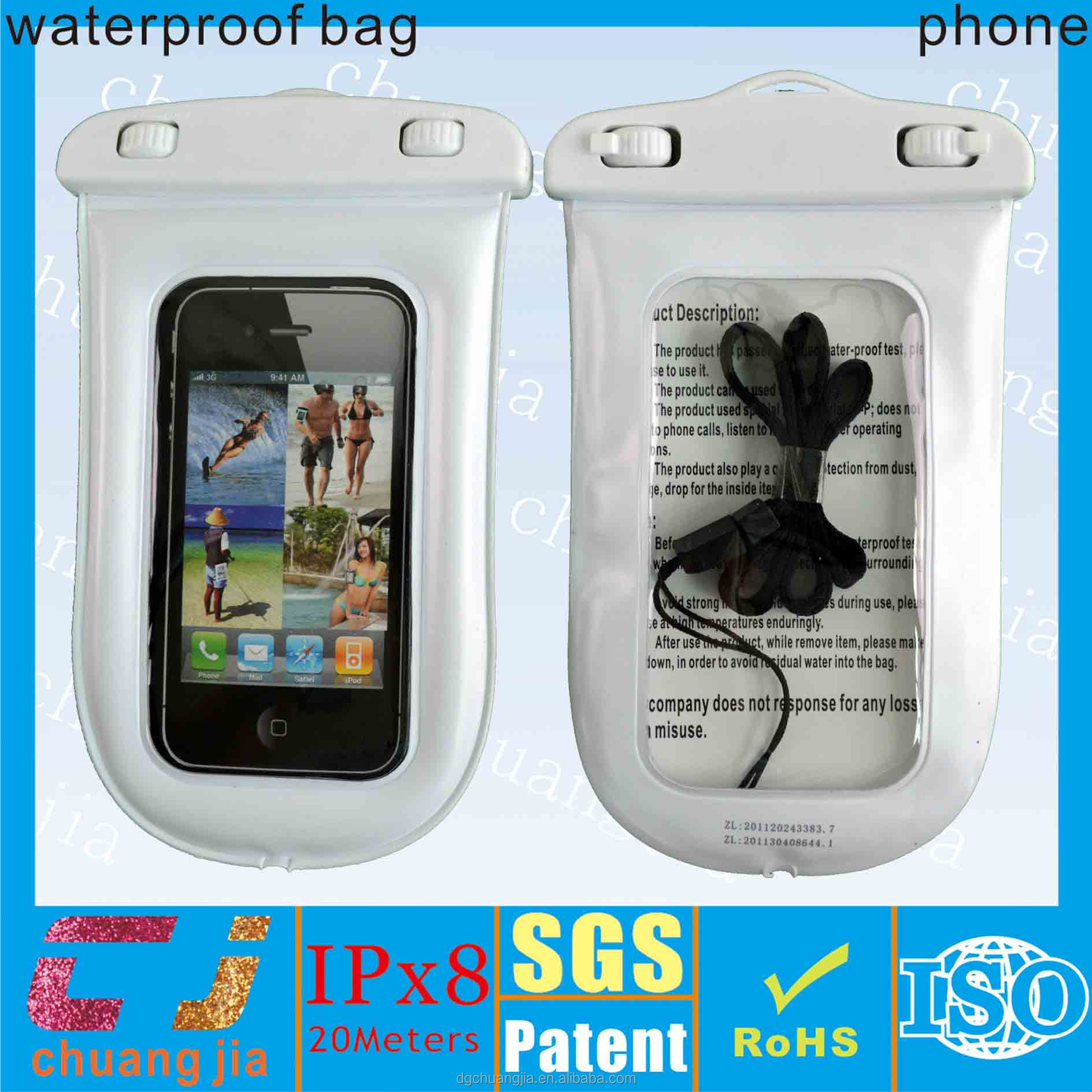 Fashional ipx8 waterproof bag for nokia 6