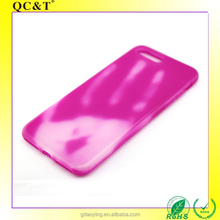 Colorful Soft TPU Mobile Phone Case Anti-finger Printing Mobile Case for iphone 7 Clear TPU Cover