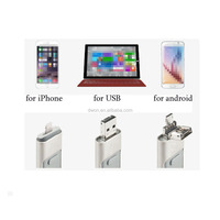 Flash Drive for iPhone iPad, USB 3.0 MFi Certified] Apple FlashDrive Mobile storage for iPhone, iPad, iPod mfi certified manufac
