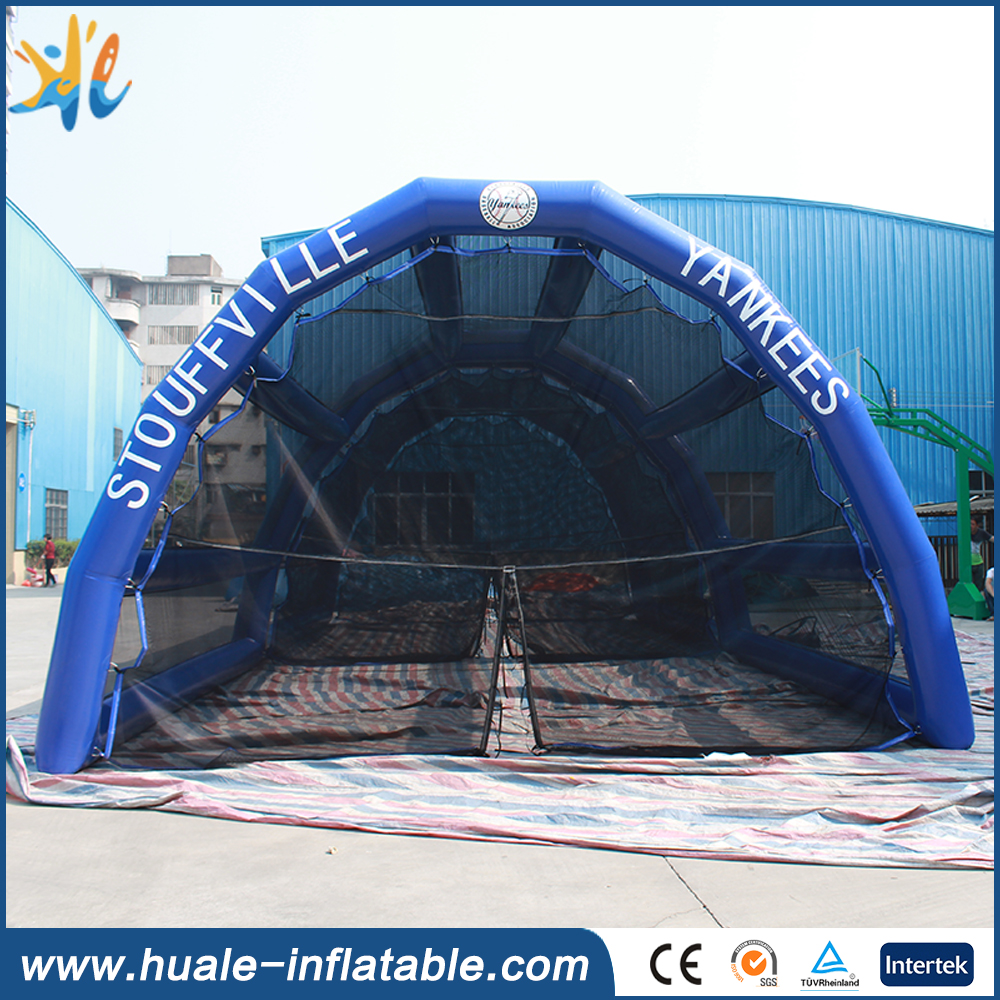 2016 New design inflatable batting cage for sale