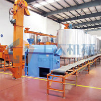 Malt producing line