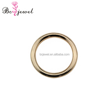 High Quality Fashion Round Shape Buckle Alloy Metal Bag Hardware O Ring for Leather Strap Handbags