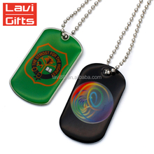 Wholesale Cheap Custom Sublimation Printer Dog Tag For Pet Dogs
