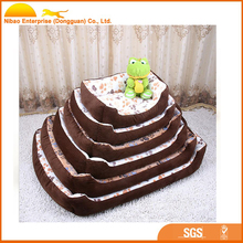 2017 high quality cozy dog pet bed
