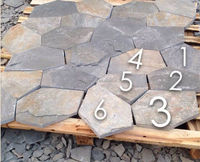 cheap patio slate meshed paver stones for sale