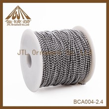 100meters per spool 2.4mm Ball Chain with connector