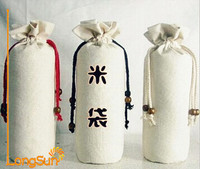 Wholesale Jute Rice Bags Handmade Jute Bag Eco-friendly Jute Rice Bag