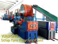 the hottest-seller recalimed scrap tyre equipment--steel separator