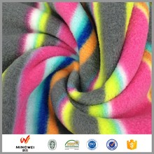 factory price china supplier 100% polyester cationic polar fleece fabric per meter