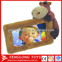 Hot Sale Custome Lovely Cow Toy Picture Photo Frame