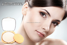 High quality makeup pressed powder waterproof face whitening Powder Foundation