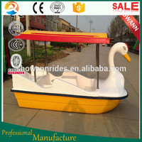 Funny children amusement Electric inflatable paddle boat