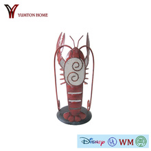 Artificial metal lobster and crab artware for wall decor