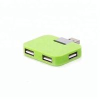 Colorful best powered 12v usb 2.0 4 port usb hub for pc laptop