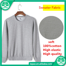 Knitting 100% Cotton Single Jersey Knit Fabric,Fleece sweater