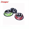 hot selling product Wholesale Supreme Stainless Steel Bone Print Travel Dog Food Water Bowl