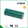 3.7V li-ion battery ICR18500 rechargeable battery with pins