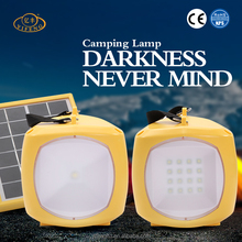 Multifunctional Emergency Lamp Outdoor Portable Solar Led Small Camping Lantern