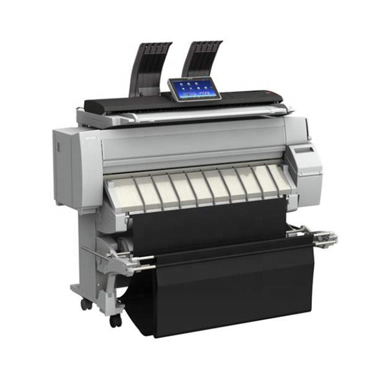 Made In Japan Used Ricoh 2200 Colorful Machine Second A0 Size Large Format DI Directly Printer for Map Drawing