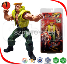 Custom super mario super size street fighter one piece figure