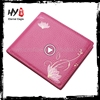 Hot selling women genuine pu leather wallet