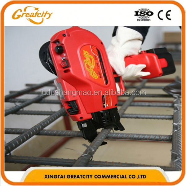 hot sale construction tool, max rebar tier,rebar tying machine with factory price