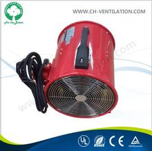 Industrial portable motor axial flow fan