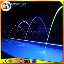 Outdoor Stainless Steel Swimming Pool Jumping Water Jet