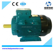 ISO approved y2-90l-4 electric motor double long shaft