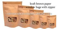 kraft brown Paper Bags with window Bangladesh