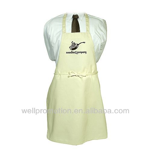 Wellpromotion twill canvas and poly kitchen apron