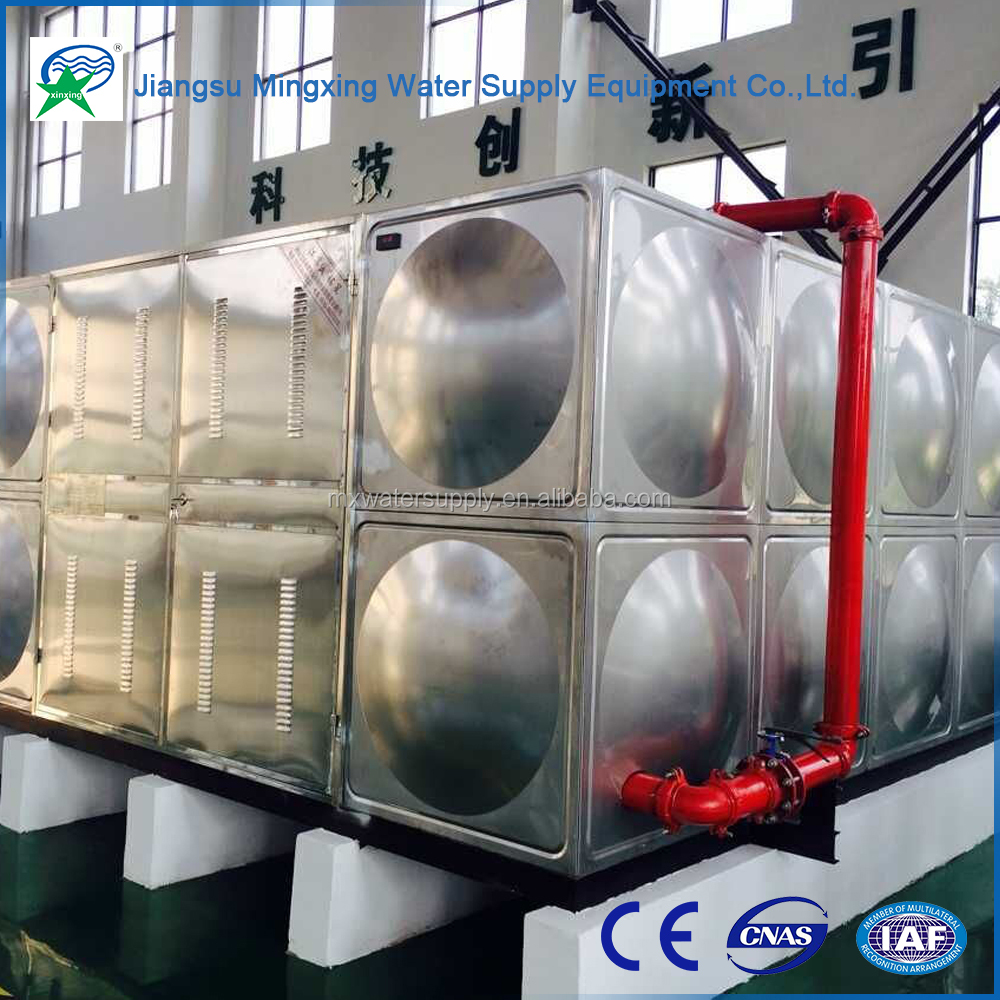 Buy wholesale direct from china all welded on-site combination smc water storage tanks