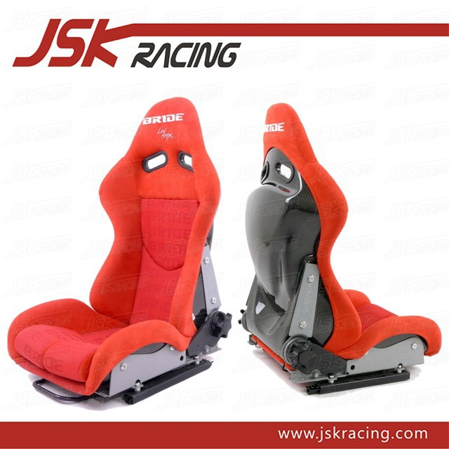 UNIVERSAL STYLE CARBON FIBER RACING SEAT/AUTO RACING SEAT/UNIVERSAL RACING SEAT FOR BRIDE SPS2 RED (JSK320148)